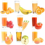 Set of juices Stock Photo
