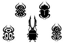 Set Käfer stock abbildung