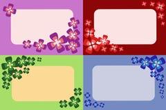 Set Karten Lizenzfreies Stockfoto