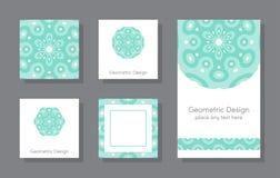 Set Karten lizenzfreie abbildung