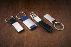 Set of keyrings Royalty Free Stock Photos