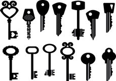 Set of keys Stock Image