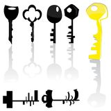 Set of keys Royalty Free Stock Image