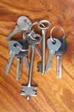 Set of keys Royalty Free Stock Photos
