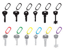 A set of keys Stock Images