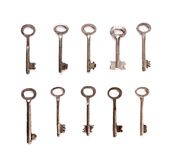 Set of keys Royalty Free Stock Photo