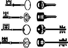 Set of keys. third variant Stock Photo
