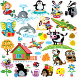 Set for kids vector illustration