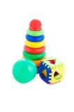 Set of kids toys Stock Photo