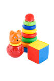 Set of kids toys Royalty Free Stock Photography