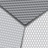 Set kilka bezszwowi węgla włókna wzory Obrazy Royalty Free