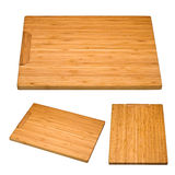 Kitchen bamboo cutting board Royalty Free Stock Photography