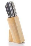 Set of kitchen knifes Stock Image