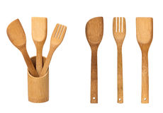 Set of kitchen spatula Royalty Free Stock Photo