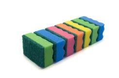 Set of kitchen sponges Stock Image