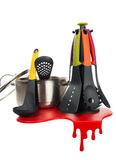 Set of kitchen tools. 