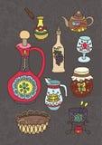 Set of Kitchen utensil Stock Image
