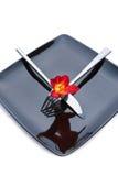 Set of kitchen utensils Stock Image