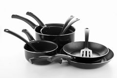 Set kitchen utensils Royalty Free Stock Photos