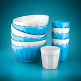 Set of kitchen utensils Stock Images