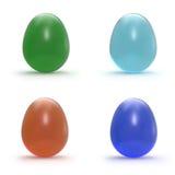 Set klejnotów jajka Obrazy Royalty Free