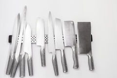 Set knifes Fotografia Royalty Free
