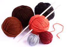 Set for knitting Royalty Free Stock Images