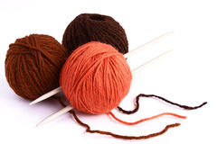 Set for knitting Royalty Free Stock Photo