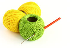 Set for knitting Royalty Free Stock Photography