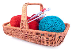 The set for knitting Royalty Free Stock Image