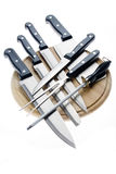 Set of knives Royalty Free Stock Images