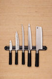 Set of knives Stock Photography