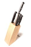 Set of knives Royalty Free Stock Photo