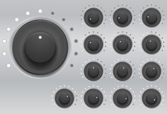Set knob Stock Images