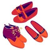 Set kobieta buty Zdjęcie Stock