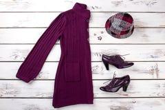 Set kobiety mody strój Fotografia Stock