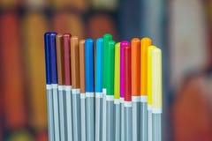 Set kolorów rysunkowi ołówki Zdjęcie Royalty Free