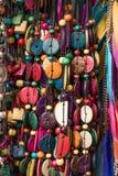 Set kolorowi jaskrawi szy guziki Obraz Stock