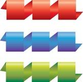 set kolorowy faborek Zdjęcia Royalty Free