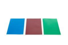 Set koloru notatnik Obraz Royalty Free