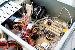 Set komputerowy narzędzia Fotografia Stock