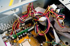 Set komputerowy narzędzia Zdjęcie Royalty Free