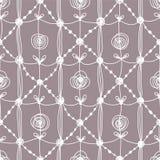 Set koronkowy deseniowy bezszwowy ilustracji