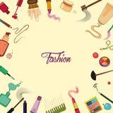 Set Kosmetik Stockfoto