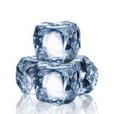 Set kostki lodu Obrazy Stock