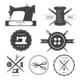Set krawieckie etykietki Obrazy Royalty Free