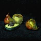 Set kreskowego rysunku owoc Obraz Royalty Free