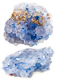 Set kryształy rockowa sól Obraz Royalty Free