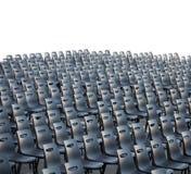 Set krzesła w sala Zdjęcie Royalty Free