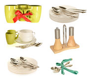 Set kuchenni naczynia Obraz Royalty Free